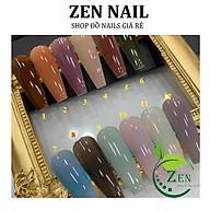 Set Sơn bobo Thạch Anh 12 màu(15ml) - Sơn Thạch thợ nails cần có(lẻ chai) thumbnail
