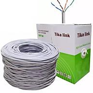 Dây mạng cat 5 Tika-link 305m lõi nhôm tặng kèm túi hạt mạng 100 hạt - Hàng chính hãng thumbnail
