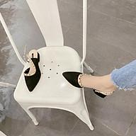 Giày Sục Thể Thao Nữ Vải Nhung Mềm Hàn Quốc Cực Xinh thumbnail