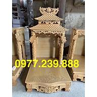 bàn thờ thần tài gỗ pơ 41x48cm thumbnail