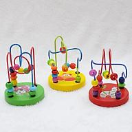 Đồ chơi luồn hạt bằng gỗ cho bé - Đồ chơi giáo dục - Phát triển trí tuệ thumbnail