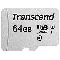 Thẻ Nhớ Micro SD Premium Transcend 64GB Class 10 - 45MB s - Hàng Chính Hãng thumbnail