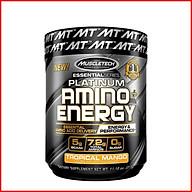 Thực phẩm bổ sung EAA MuscleTech Platinum Amino Energy - 30 lần dùng Hỗ trợ tăng năng lượng, phục hồi và phát triển cơ bắp cho người tập luyện thể hình và thể thao Thương hiệu MuscleTech USA - Nhập khẩu chính hãng thumbnail