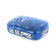 VGA KVM Switch 2 Port USB + PS2 + Audio MT-Viki MT-271UK chính hãng thumbnail