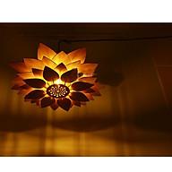 Đèn gỗ thả trần đèn gỗ ốp tường D029 thumbnail