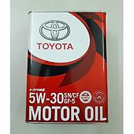Dầu nhờn động cơ Toyota 5W30 SN GF-5 4Lx6 thumbnail
