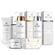 Bộ Truesky VIP03 gồm 1 ủ trắng body 100ml & 1 dưỡng trắng body 100ml & 1 dưỡng trắng da mặt 10g & 1 sữa rửa mặt 60ml thumbnail