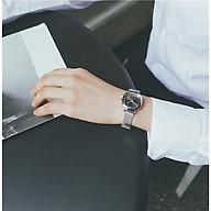 Đồng hồ thời trang nữ Jc1, mặt vuông dây da, kích thước mặt 24mm phù hợp với mọi cỡ tay thumbnail