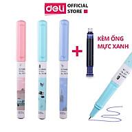 Bút máy học sinh Deli - Họa tiết đáng yêu - Màu ngẫu nhiên - A919 thumbnail