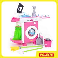 Bộ Đồ Chơi Giặt Ủi Carmen, Đồ Chơi Giáo Dục An Toàn, Phát triển Tư Duy, Sáng Tạo Cho Bé, Hàng Nhập Khẩu Châu Âu - Polesie Toys thumbnail