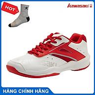 Giày cầu lông kawasaki K088 chính hãng dành cho cả nam và nữ, đế đàn hồi, chống trơn trượt - tặng tất thể thao bendu thumbnail