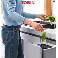 Thùng rác thông minh cài tủ bếp dán nhà vệ sinh TOBIN thumbnail