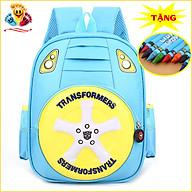 Balo đi học cho bé mẫu giáo chống ướt, siêu nhẹ, xinh xắn (Tặng 1 hộp sáp màu) E398 thumbnail