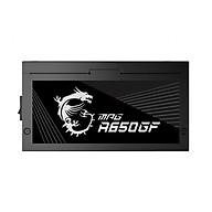 Nguồn máy tính MSI MAG A650GF 650W - Hàng chính hãng thumbnail