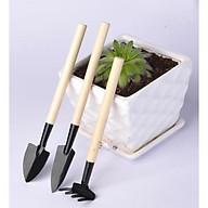 Bộ dụng cụ làm vườn mini 3 Món Tiện Dụng thumbnail