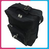 Túi đồ nghề cho thợ điện, điện lạnh 40x30x17 cm kiểu đứng vải bố dày thumbnail