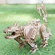 Đồ chơi lắp ráp gỗ 3D Mô hình Mô hình Khủng long Robot Ravage thumbnail