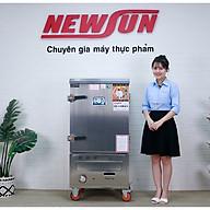 Tủ Nấu Cơm 24 Kg Gạo Mẻ Bằng Gas 8 Khay Nhập Khẩu NEWSUN - Hàng Chính Hãng thumbnail