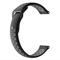 Dây đeo tay bằng silicon 46MM - Samsung Galaxy Watch 3 45mm Honor MagicWatch 2 Huawei Watch GT GT2 GT Active Honor Watch Dream Amazfit Verge Stratos Pace Amazfit GTR 47mm Haylou Solar thumbnail
