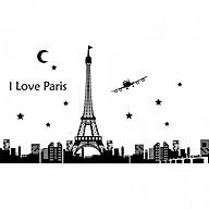 Decal dán tường thành phố Paris Dạ quang - HP53 thumbnail