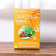 Thực phẩm bảo vệ sức khỏe GERCENA Diabets hỗ trợ ổn định đường huyết hộp 30 viên thumbnail