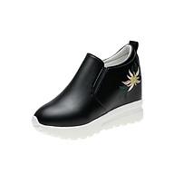 Giày slip on độn 7p da cao cấp siêu mềm siêu nhẹ SLO849202 thumbnail