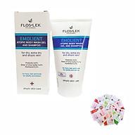 Dầu gội và sữa tắm dành cho viêm da cơ địa Floslek Atopic Shower Body Wash Shampoo 150ml + tặng 1 mặt nạ Dermal bất kỳ thumbnail