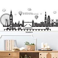 Decal Dán Tường Hình Thành Phố London Decal Dán Tường Trang Trí Phòng Ngủ Cho Bé thumbnail