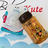 Bình sữa bằng nhựa PP Baby Kute 260ML tặng kèm 2 núm Silicone siêu mềm nhập khẩu từ Thái Lan thumbnail