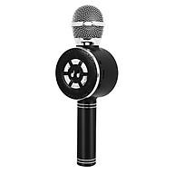 Loa Bluetooth Đa Năng FM TF KTV - Đen thumbnail