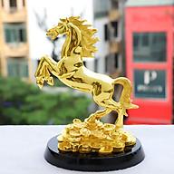 Tượng Ngựa Tài Lộc mạ vàng thumbnail