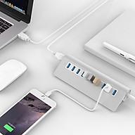 Bộ hub chia 10 cổng USB3.0 vỏ nhôm cao cấp M3H10 thumbnail