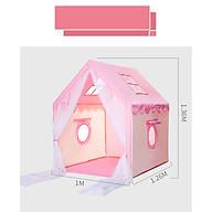 Lều Vải Hàn Quốc Cao Cấp, Lều Khung Gỗ Trẻ Em, Lều Ngôi Nhà Vui Chơi Cho Bé thumbnail