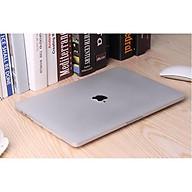 Case Macbook Air 13 ( 2018-2021) A1932 , A2179 , A2337 trắng trong 2 màu (Tặng kèm Nút chống bụi + bộ chống gãy sạc) thumbnail