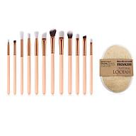 Bộ cọ trang điểm hồng pastel Make up brush set IM00021-PINK + Tặng bông tắm xơ mướp PROVK399 thumbnail