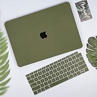 Case ốp nhựa cho Macbook màu xanh rêu - Hàng chính hãng thumbnail