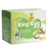 Combo 2 Hộp Cốm Canxi KING KIDS NANO giúp hỗ trợ phát triển chiều cao và giảm nguy cơ còi xương cho bé yêu thumbnail