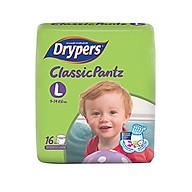 Tã Quần Drypers ClassicPantz L16 (16 Miếng) thumbnail