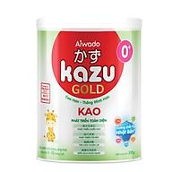 [Tinh tuý dưỡng chất Nhật Bản] Sữa bột KAZU KAO GOLD 350g 0+ (dưới 12 tháng) thumbnail