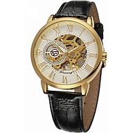 Đồng hồ cơ nam Forsining Handwinding H099M DÂY DA lộ máy - Fullbox chi nh ha ng thumbnail