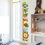 Decal dán tường chất liệu PVC loại 1 dày dặn, sắc nét,không độc hại, chuyên trang trí phòng khách, phòng ngủ, trang trí quán cafe,trang trí phòng ngủ cho bét-thước thú qr - mã sản phẩm QR9043 thumbnail