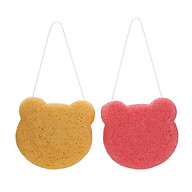 2PCS Set Face Clean Sponge Facial Puff Face Washing Sponge Facial Cleaning Taking a Bath Cleansing Tool For Baby thumbnail