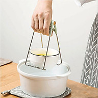 Dụng cụ kẹp gắp bát đĩa chống nóng thông minh, khay inox kẹp đồ nóng nhà bếp đa năng - GIAO MÀU NGẪU NHIÊN thumbnail