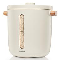 Thùng Đựng Gạo Chân Không Lock&Lock Vacuum Rice Keeper EJR983WHT 5V, 3W, 12L - Màu trắng thumbnail
