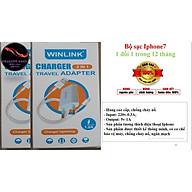 Bộ Sạc Iphone 7 Chuẩn Winlink 25IP7- hàng chính hãng thumbnail