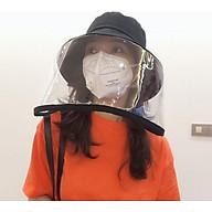 Nón Mũ Vải Thêu CóTấm Kính Chống Dịch thumbnail