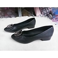 giày búp bê cao 2 phân đế cao su thumbnail