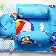 Bộ nệm gối Cotong cao cấp sơ sinh có in hình ngộ nghĩnh (Cho em bé từ 0-2 tuổi) thumbnail