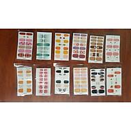 Set 12 bộ dán móng thời trang thumbnail