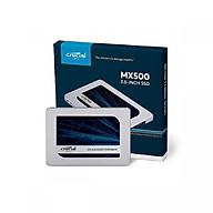Ô cư ng gă n trong SSD Crucial MX500 500GB 2.5 inch Sata III CT500MX500SSD1 - Hàng Nhập Khẩu thumbnail